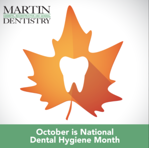 national dental hygiene month